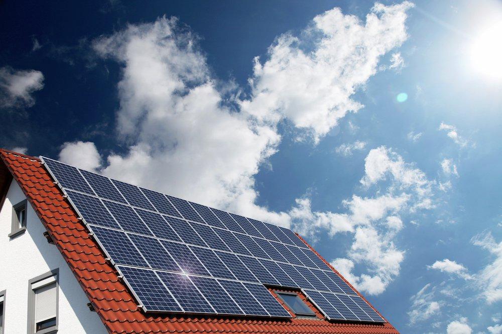Photovoltaikanlagen auf einem Steildach